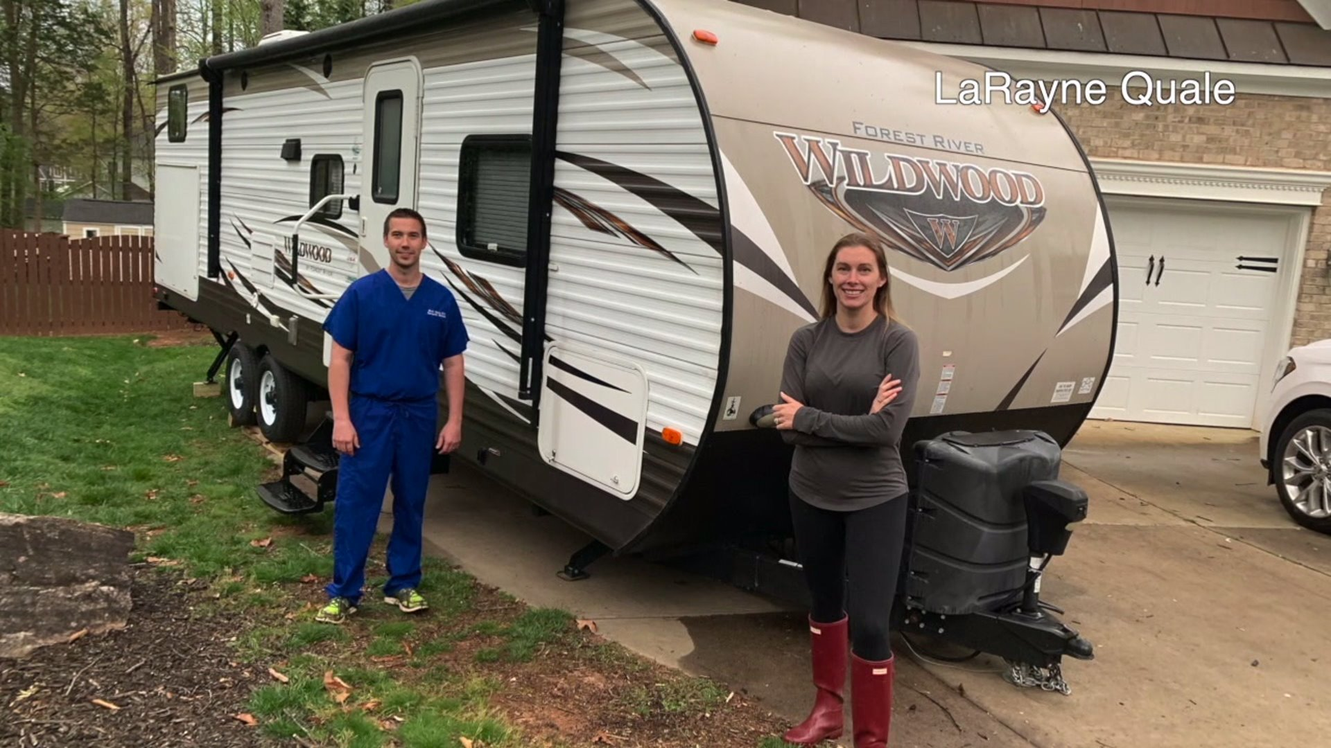 Alamance Regional emergency room doctor sleeping in RV to keep his family healthy
