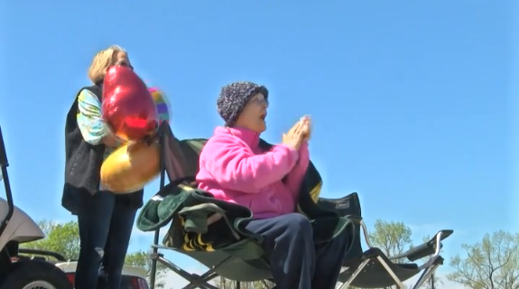 NC cancer patient celebrates 60th birthday with drive-by parade