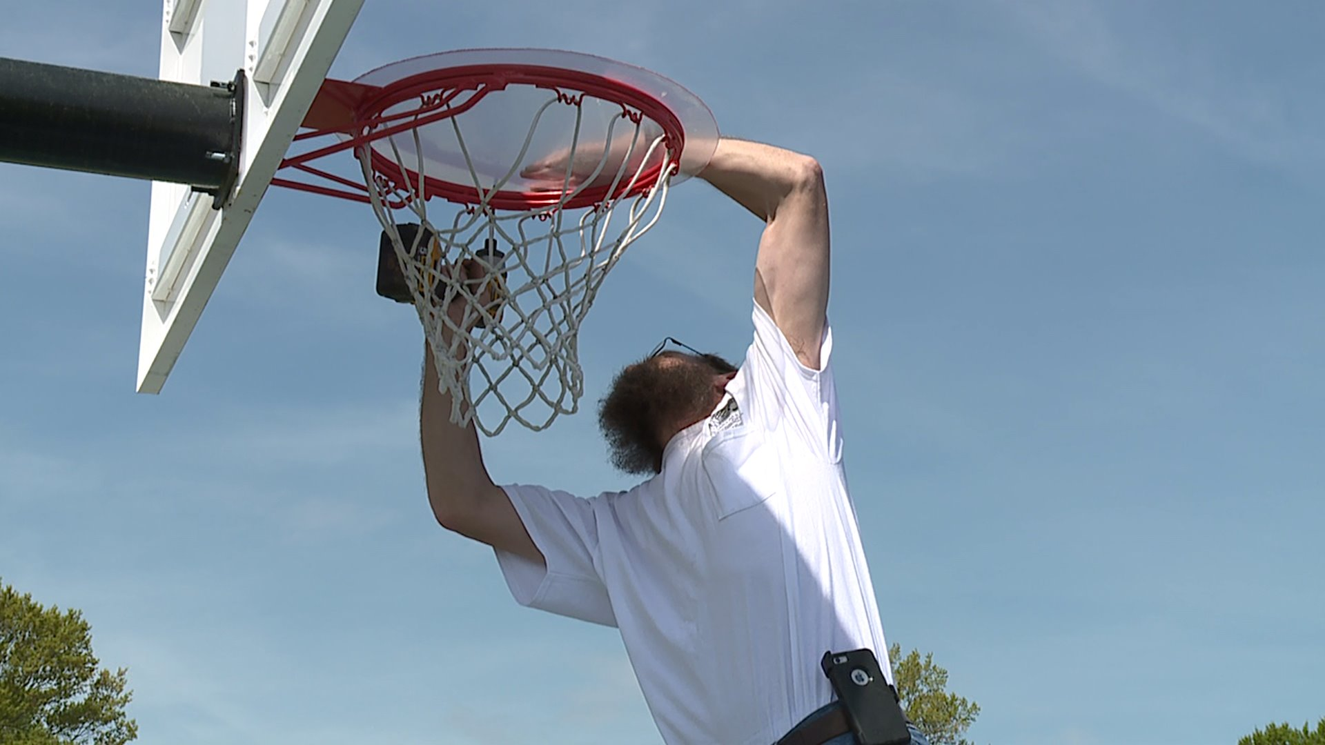 High Point Removes Basketball Hoops Myfox8 Com