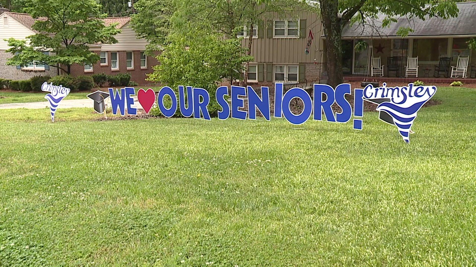 Community steps up to support graduating high school seniors