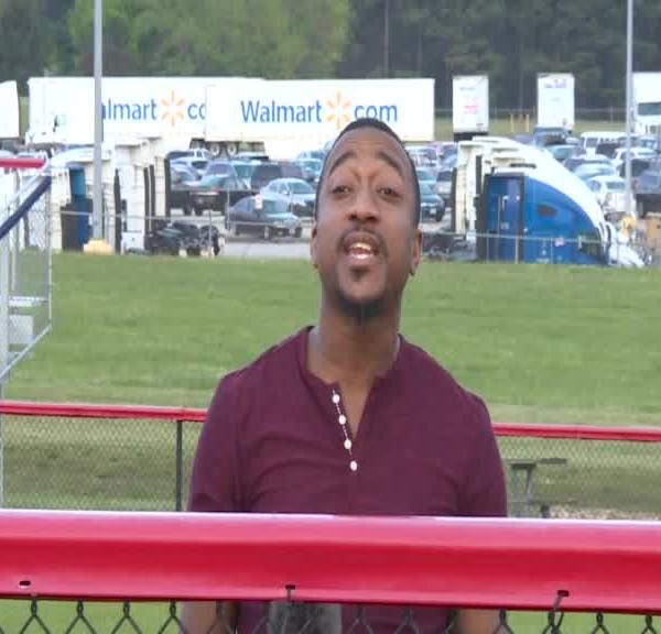 """NC native goes viral singing Bill Withers classic """"Lean on Me"""" in Walmart video"""