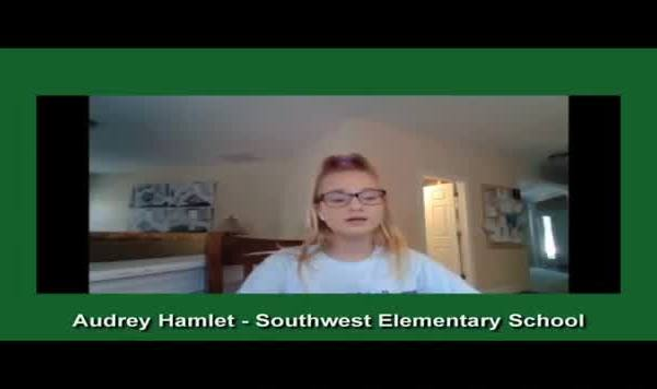 4th grader at Southwest Elementary School writes song to honor teacher