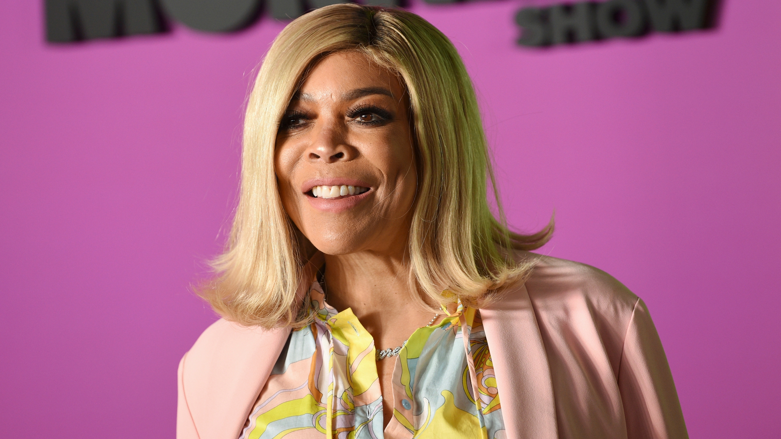 """FILE - In this Oct. 28, 2019 file photo, Wendy Williams attends the world premiere of Apple TV+'s """"The Morning Show"""" in New York. Williams is taking a break from her daytime talk show to receive treatment for a previously announced health condition. A spokesperson for """"The Wendy Williams Show"""" said that Williams has has been suffering fatigue because of symptoms from Graves' disease. (Photo by Evan Agostini/Invision/AP, File)"""
