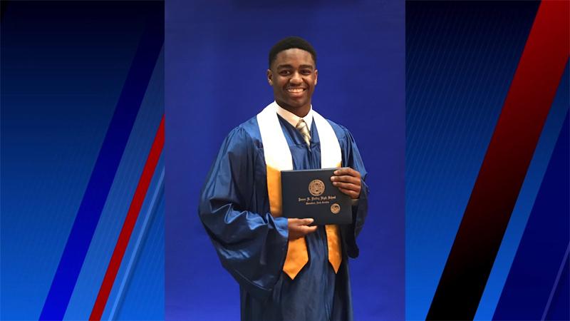 FOX8 Senior Sendoff: Branson Adams, Dudley High School