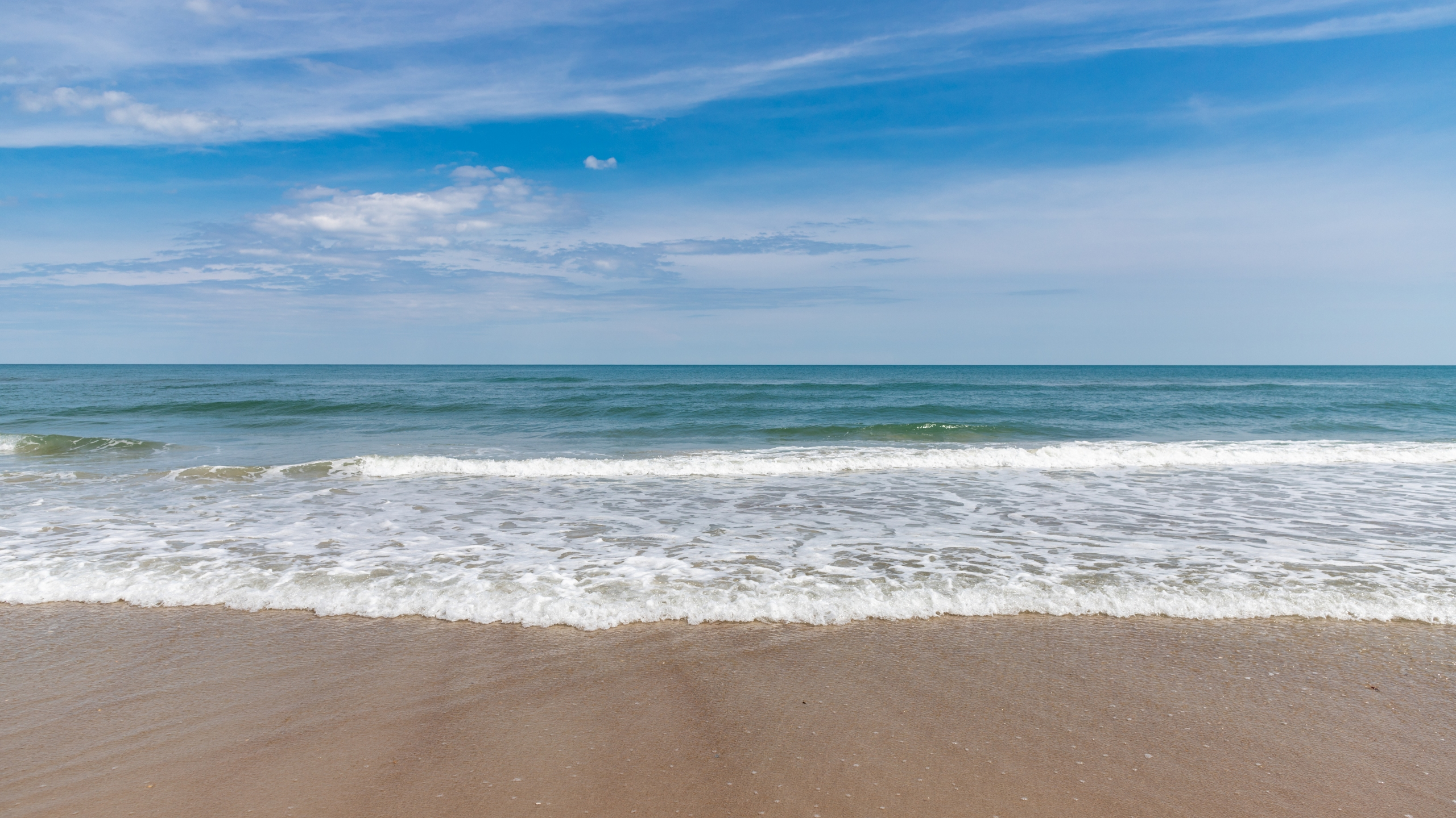 A beach on Ocracoke Island (Stock image/Getty)