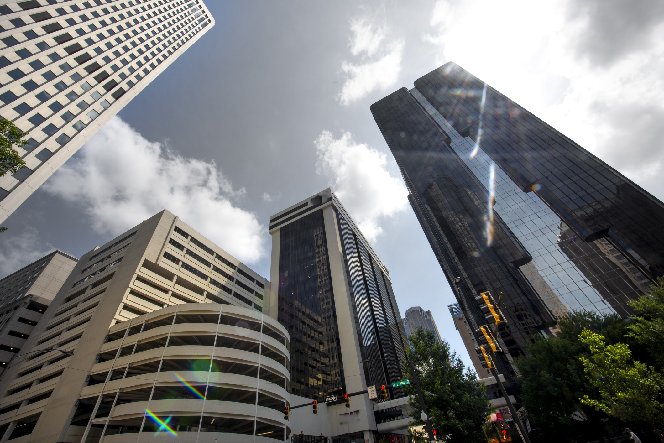 Urban Skyscrapers in Charlotte, North Carolina (Getty Images)