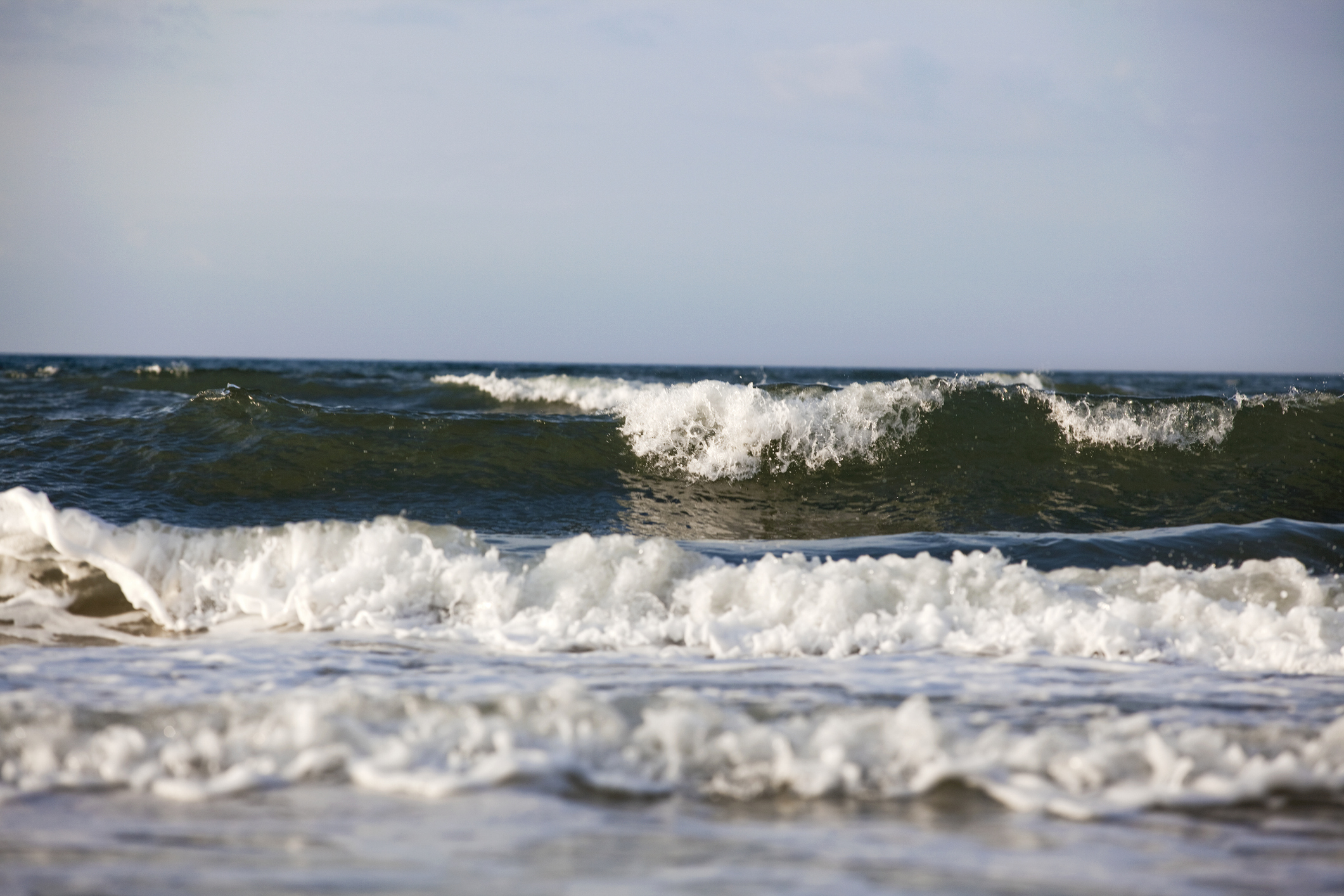 Waves at the Outer Banks. (Getty Images)