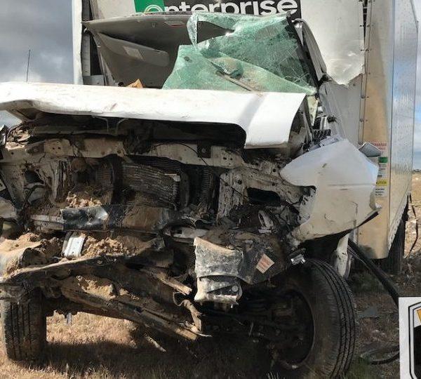 Scene of crash courtesy Idaho State Police