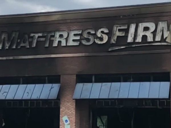 Crews put out fire at Mattress Firm on Lawndale Drive in Greensboro