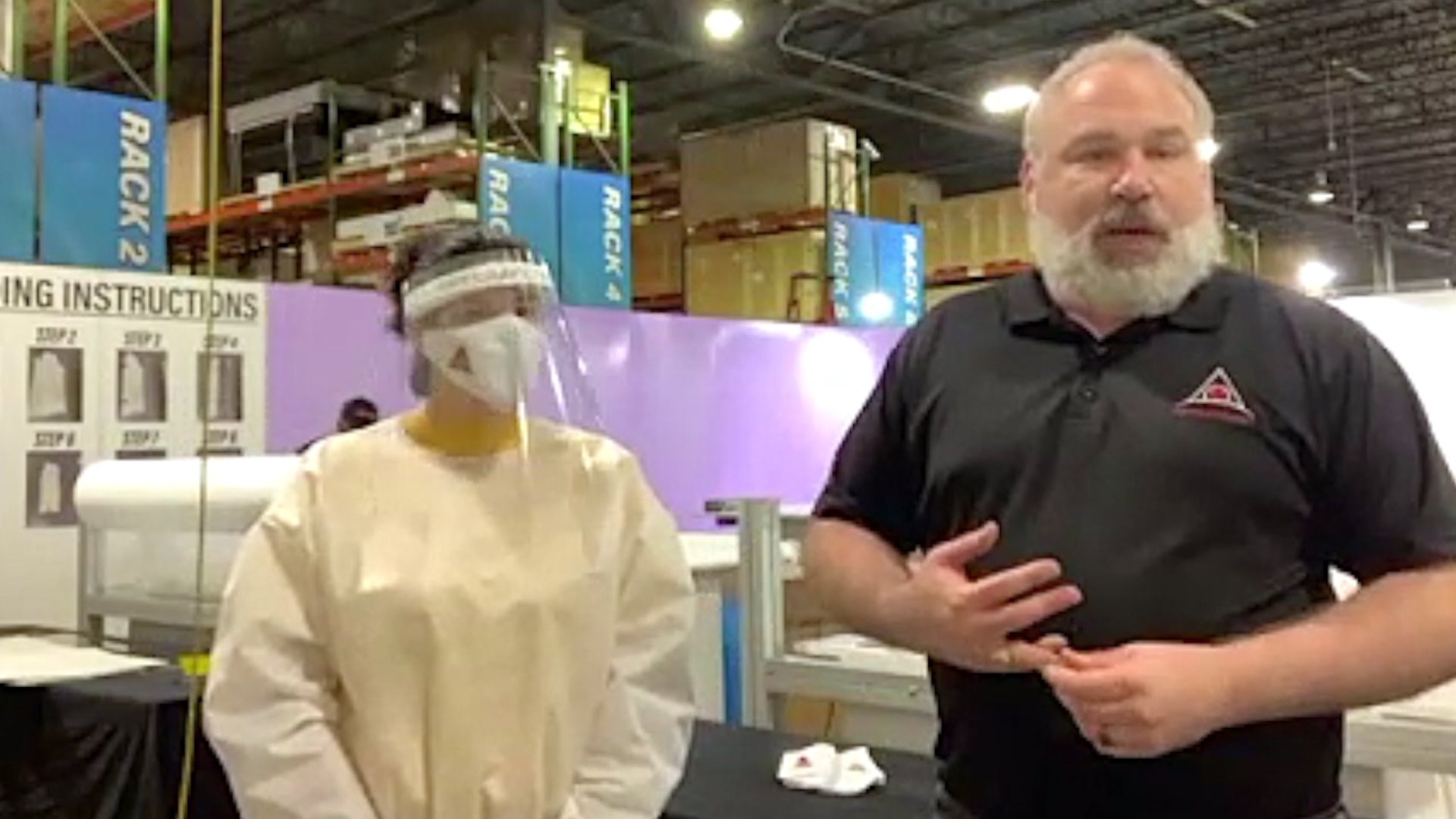 Greensboro company turns to making protective gear during pandemic