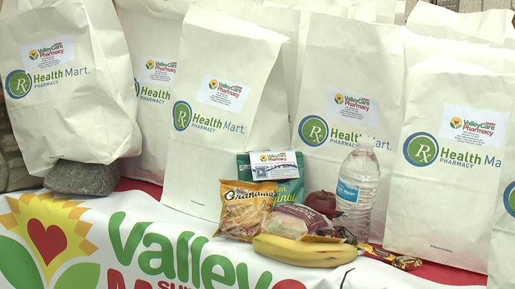 Pharmacy feeds customers affected by COVID