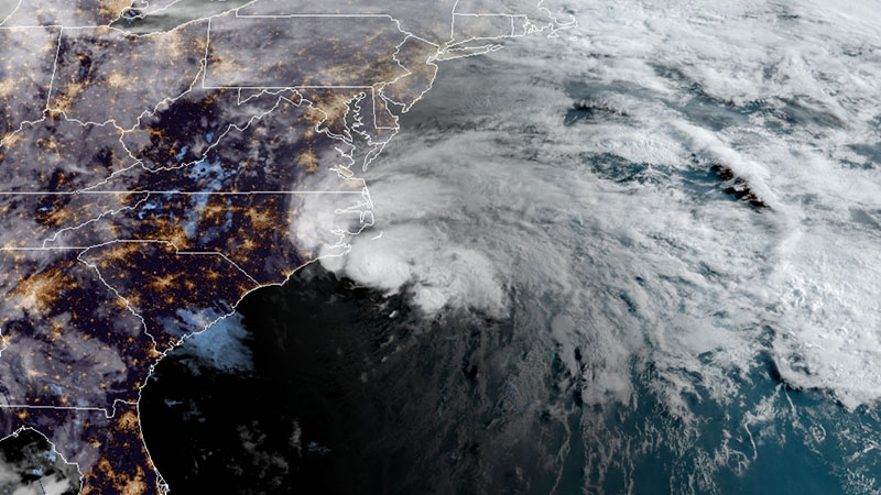 Tropical Storm Arthur expected to brush North Carolina, cause possible 'life-threatening surf.' (National Hurricane Center)