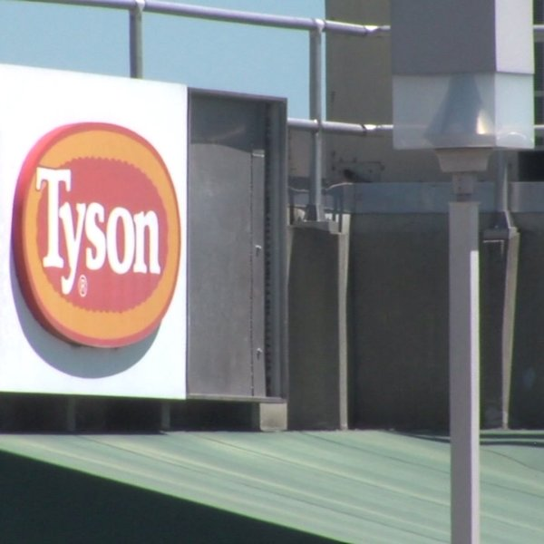Tyson Foods plant closed until Tuesday for deep cleaning following virus outbreak
