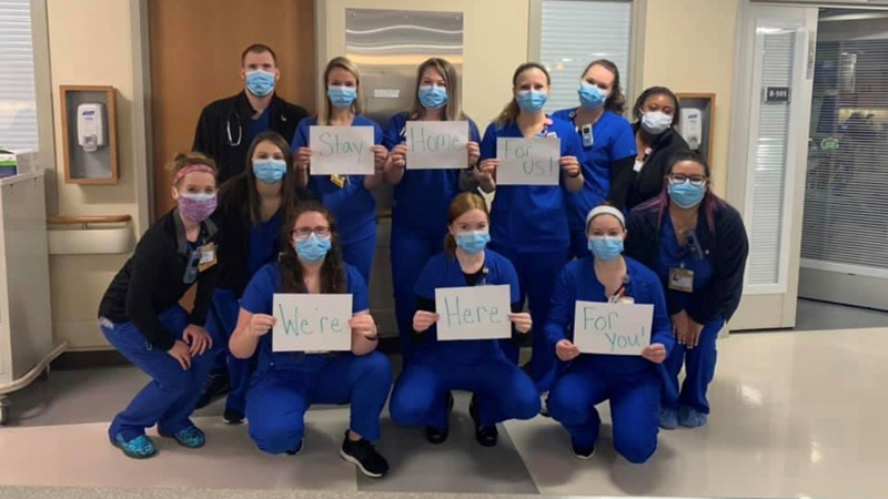 FOX8 Highlighting Heroes: Neuro ICU team at Wake Forest Baptist Medical Center