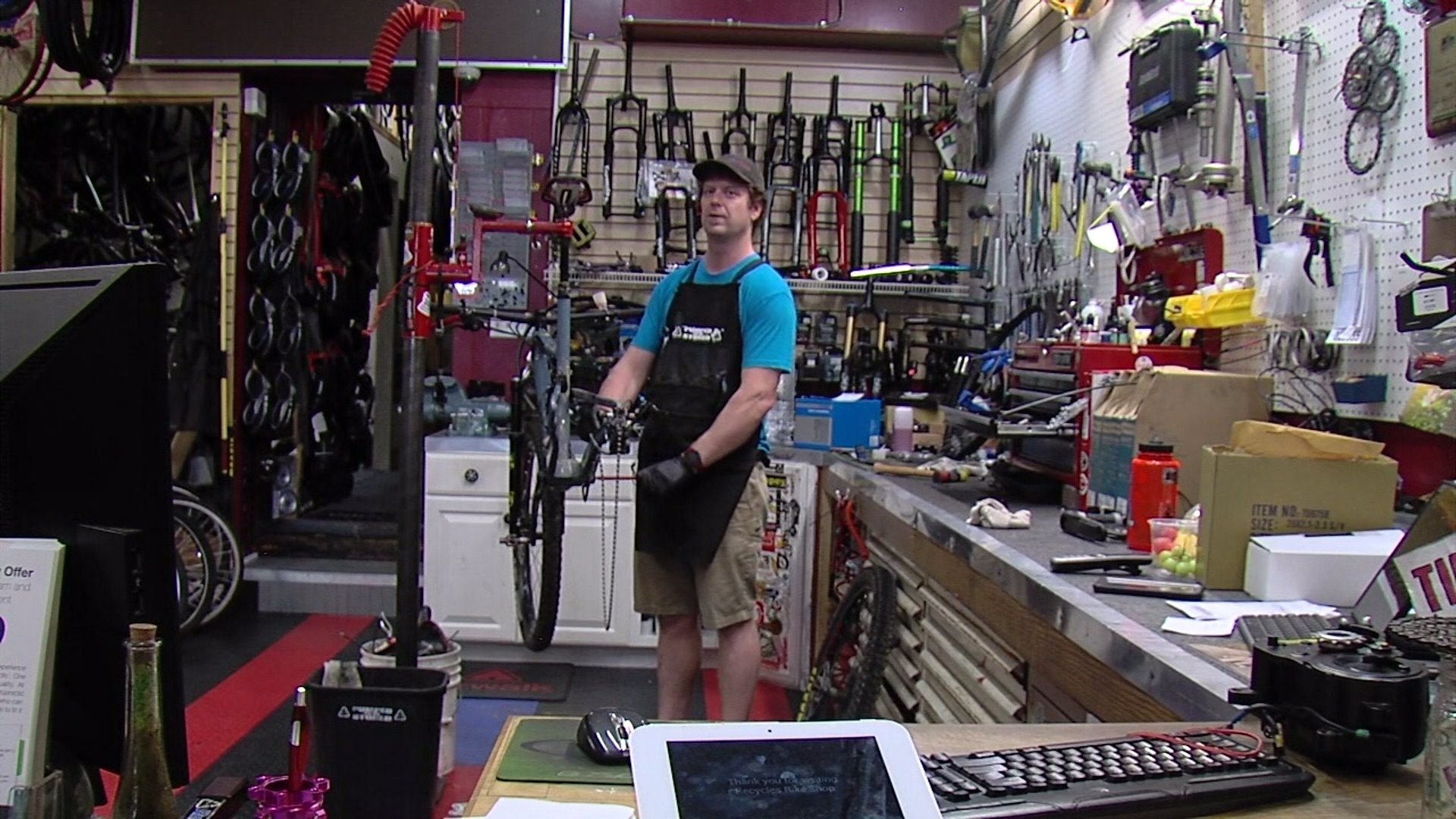 Greensboro bike shop owner sees boom in customers, repairs