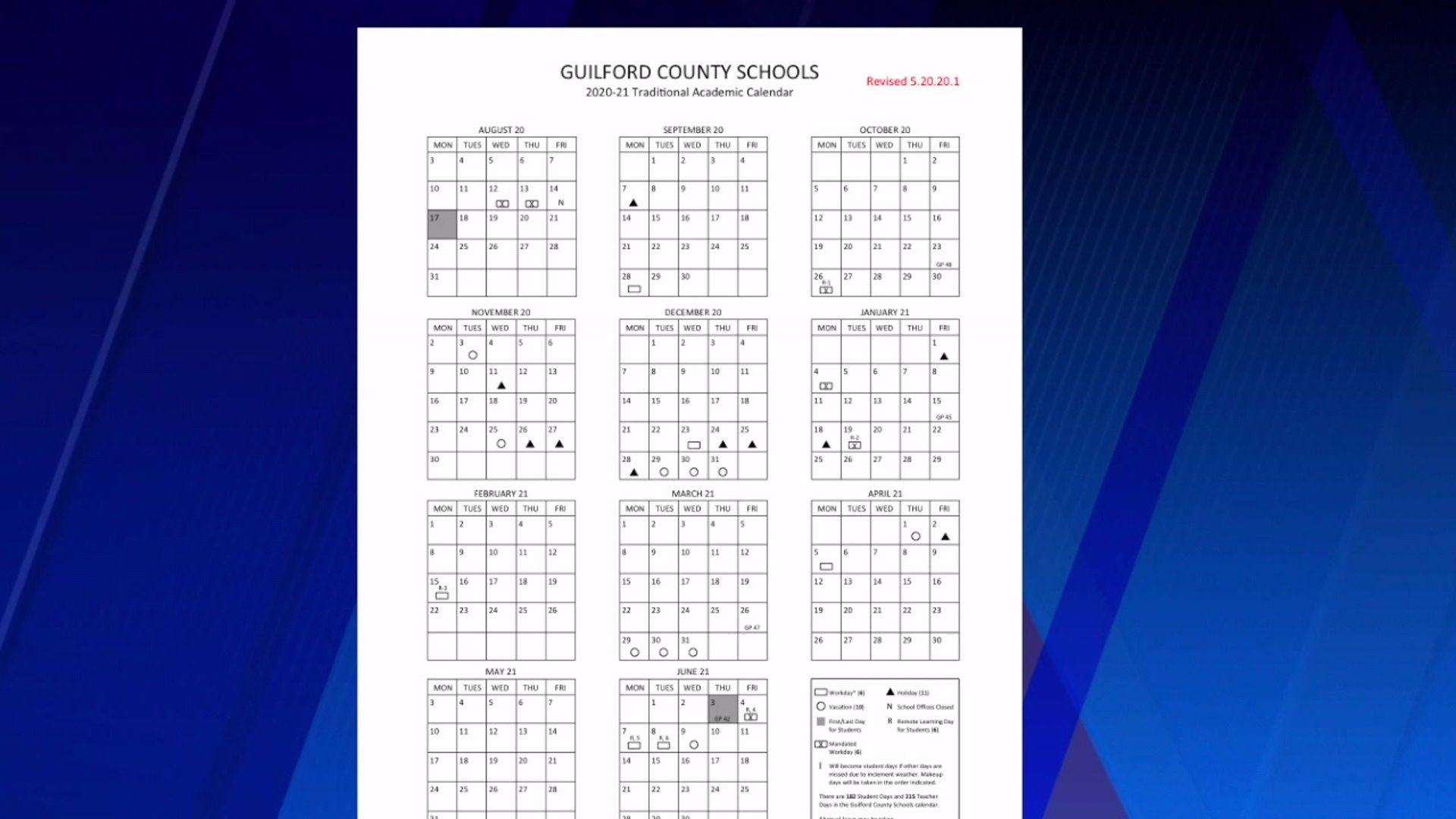 Parents have mixed feelings about proposed Guilford County Schools calendar