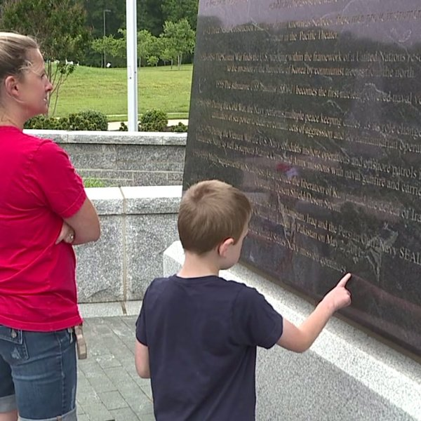 People have many reasons for visiting Carolina Field of Honor