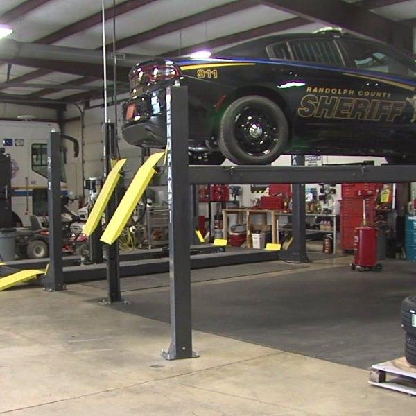 Randolph County Sheriff's Office maintenance garage opens