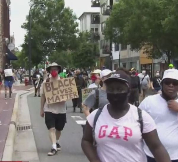 'It went beautiful': Hundreds at Durham protest remain peaceful Saturday (WNCN)