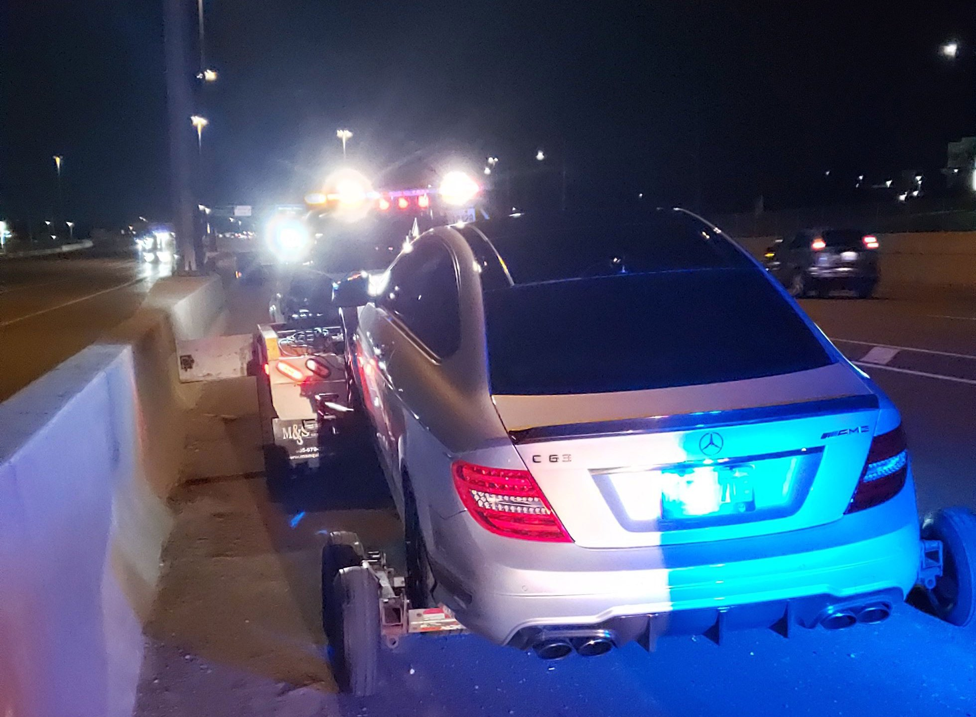 A 19-year-old in Canada was charged with street racing after he was caught driving 191 mph. (Ontario Provincial Police)