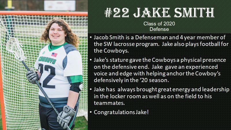 FOX8 Senior Sendoff: Jake Smith, Southwest Guilford High School