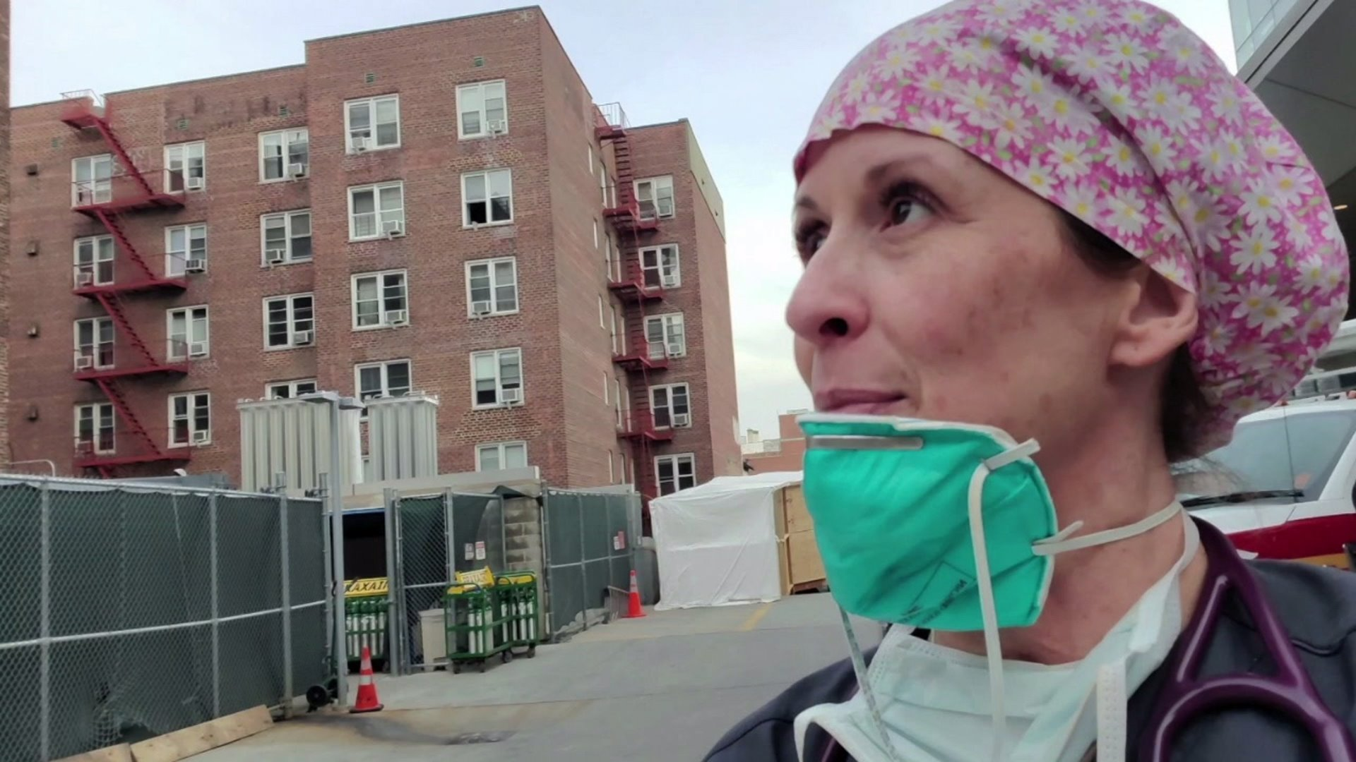 High Point nurse returns home after working in New York emergency department