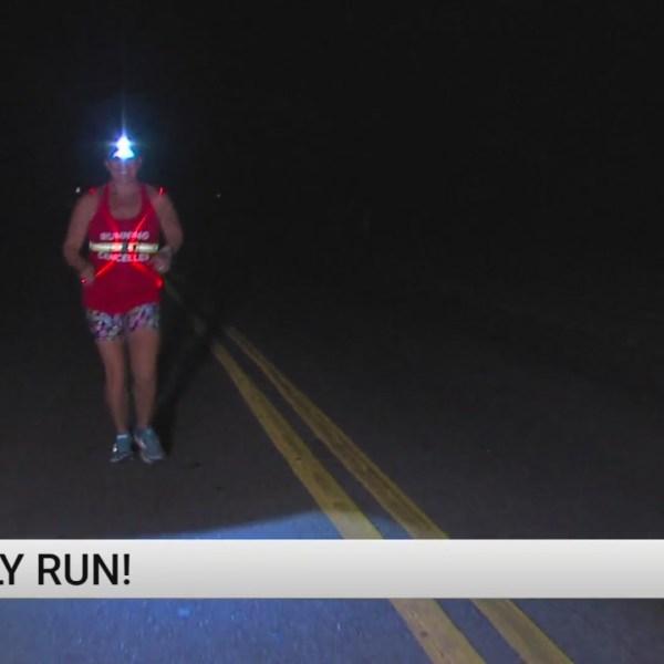 Greensboro woman running through unique social media challenge