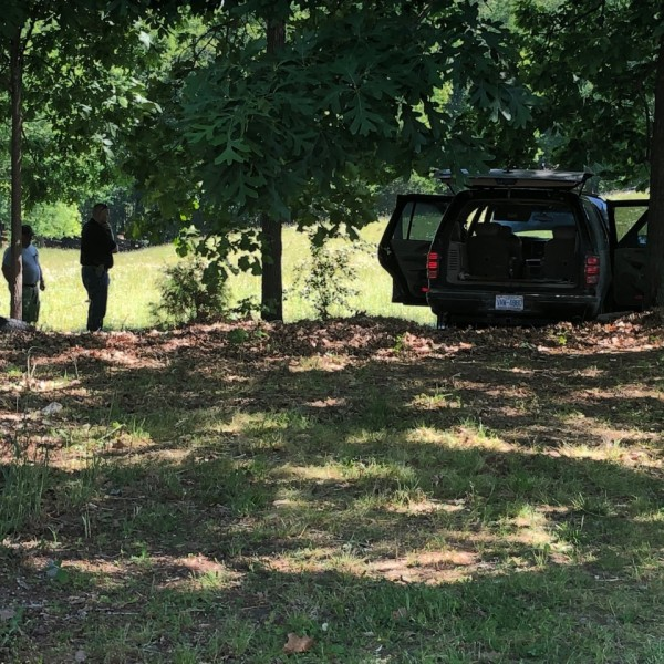 Suspect in custody after chase ends with fiery wreck in Davidson County