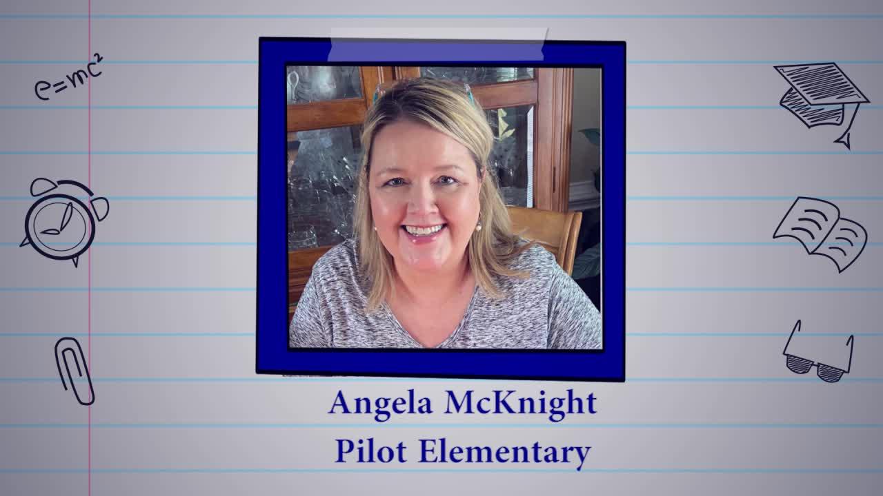 Educator of the Week: Angela McKnight