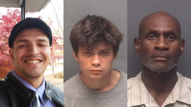Joel Thomas Shaw (deceased), Tony A. Rivera (suspect) and Bryant Hairston (suspect).