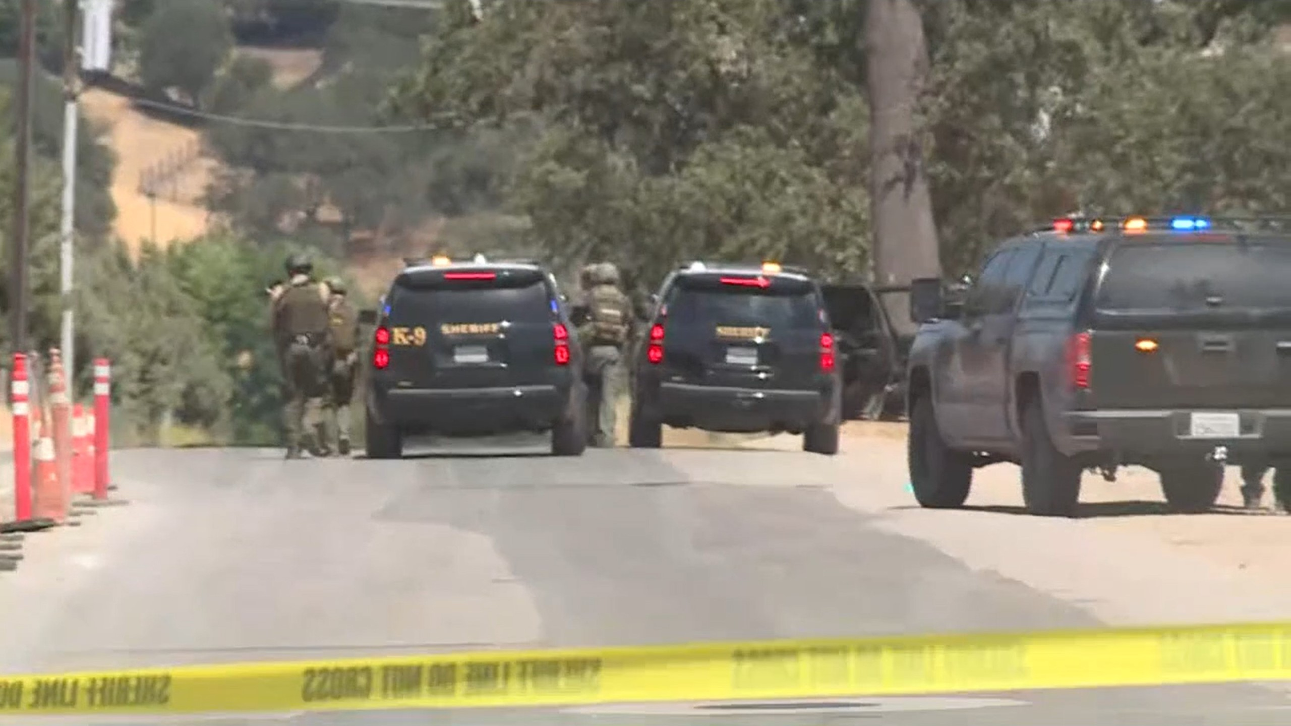 Several officers wounded, suspect down in 2nd active shooter case in Paso Robles, California