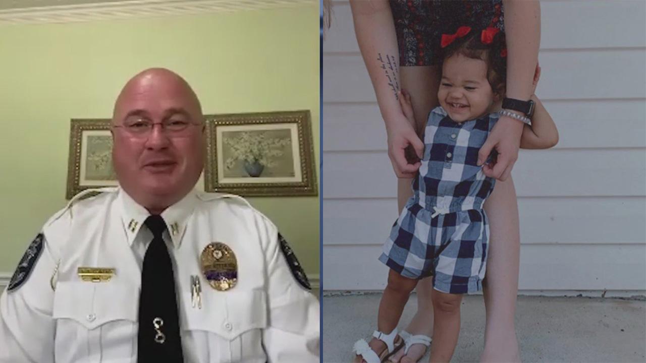 Grateful mother thanks North Carolina police captain who saved choking baby at restaurant
