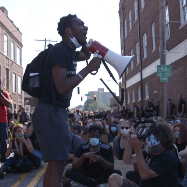 Winston-Salem protest organizer describes life on the front lines of local protests