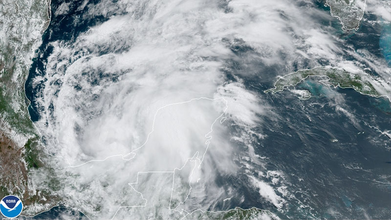 Tropical Storm Cristobal forms, could bring 'life-threatening heavy rainfall and flooding' to Mexico, Central America