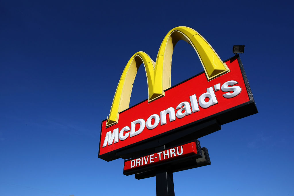 McDonald's sign (Photo by Justin Sullivan/Getty Images)