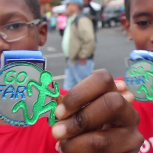 GO FAR helps kids discover a love of running