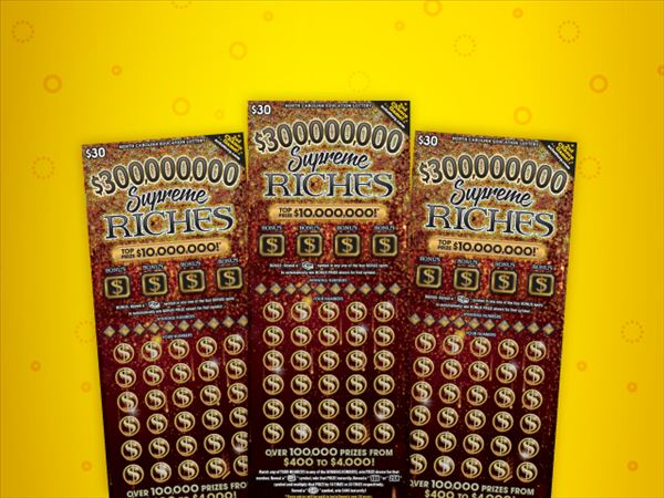 NC vacation leads to $100,000 win for Florida man (NC Education Lottery)
