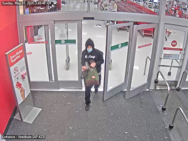 Police are looking for two vehicles after an ABC store and a Target were looted in Greensboro. (Greensboro Police)