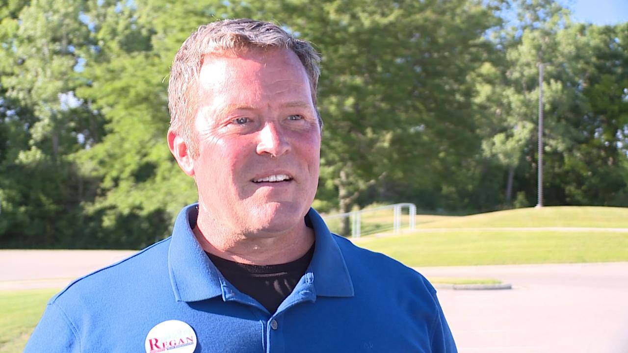 Michigan 73rd House District candidate Robert Regan, a Republican. (June 25, 2020)