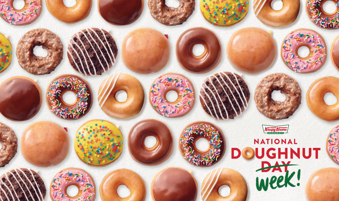 Krispy Kreme celebrates National Donut Day with 5 days of free doughnuts