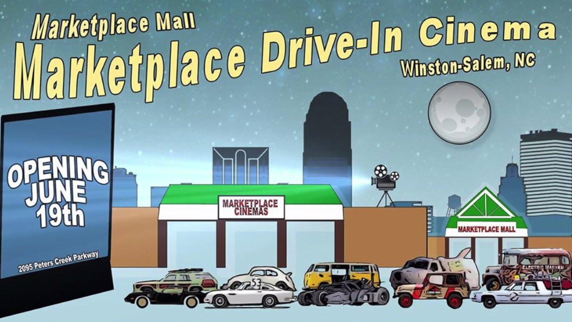 Drive In Theater Opening In Winston Salem Myfox8 Com
