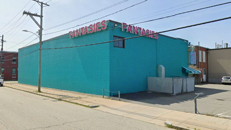 Club Fantasies in Providence, Rhode Island (Google Maps)