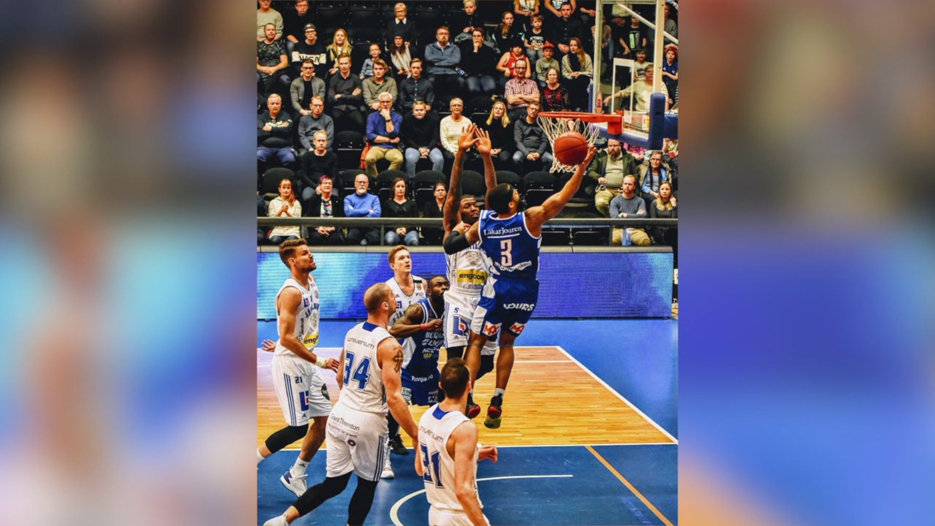 High Point native living the dream playing pro basketball in Europe