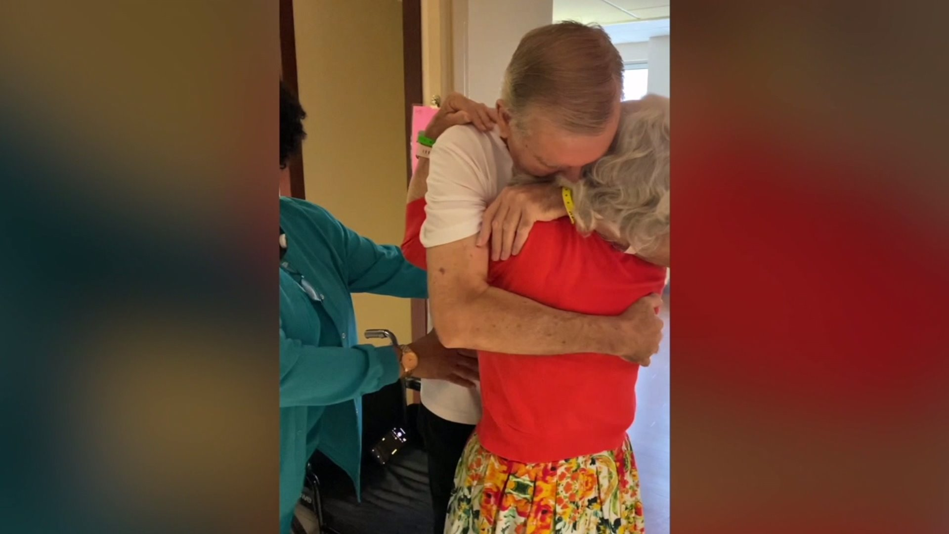 Guilford County man reunited with wife after battling COVID-19 for months