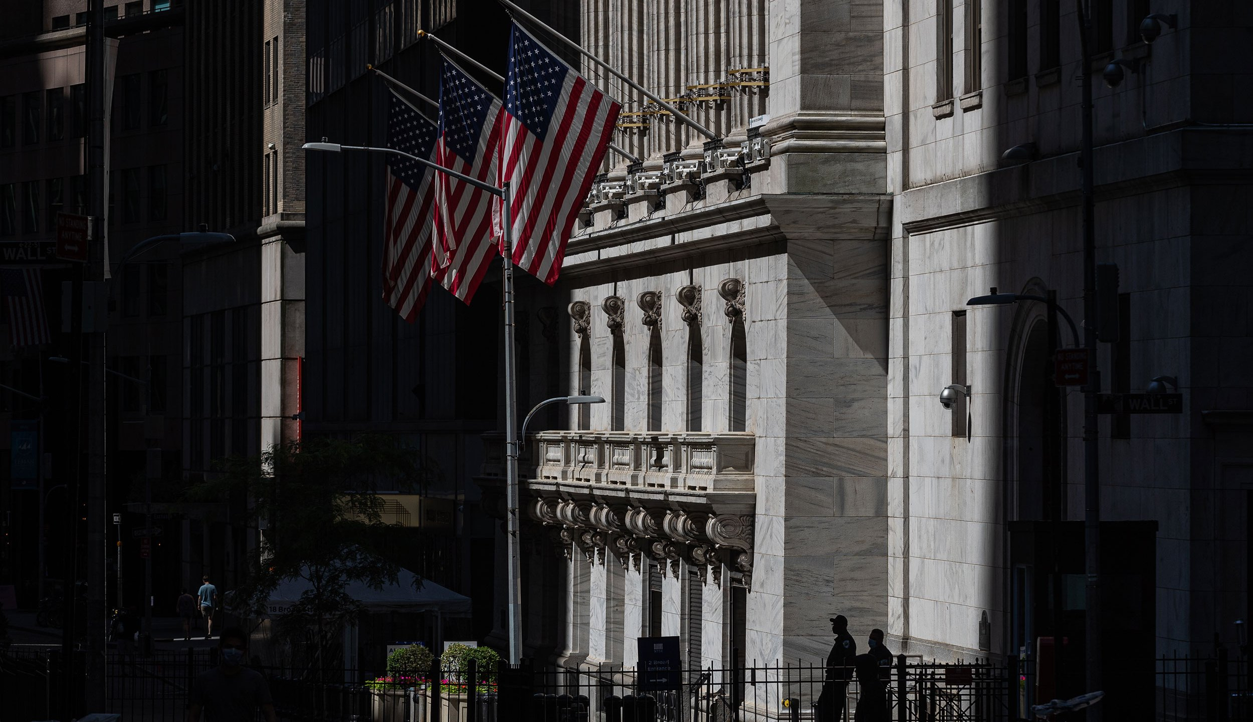 The New York Stock Exchange (Jeenah Moon/Bloomberg via Getty Images)