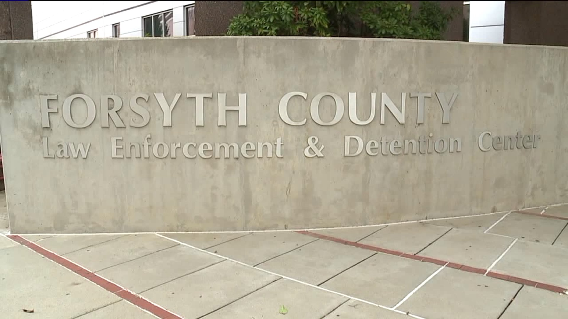 Forsyth County Law Enforcement Detention Center (WGHP file photo)