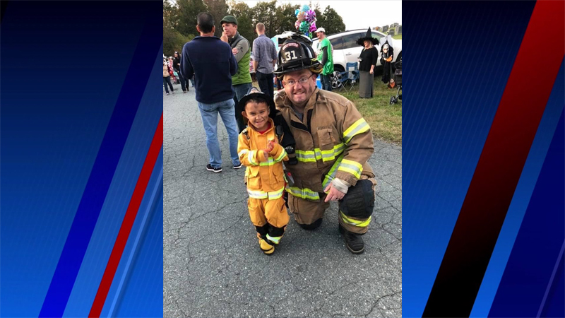 FOX8 Highlighting Heroes: Jason Long, Whitsett Fire Department
