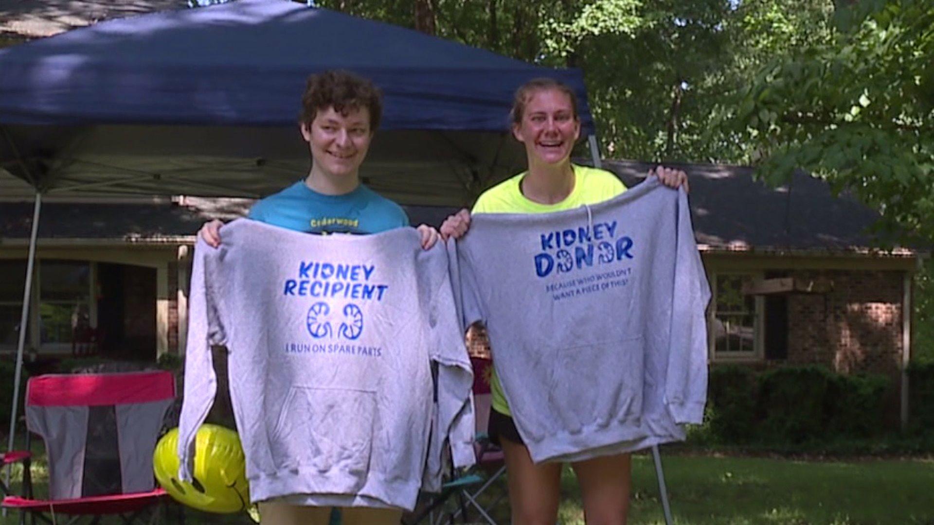 Jamestown lifeguard donates kidney to teenage teammate facing kidney failure