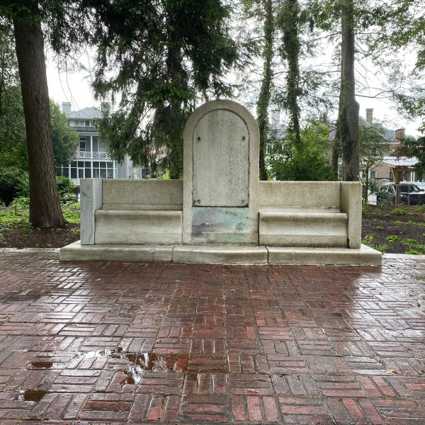 A Confederate monument has been removed from a Charleston park.