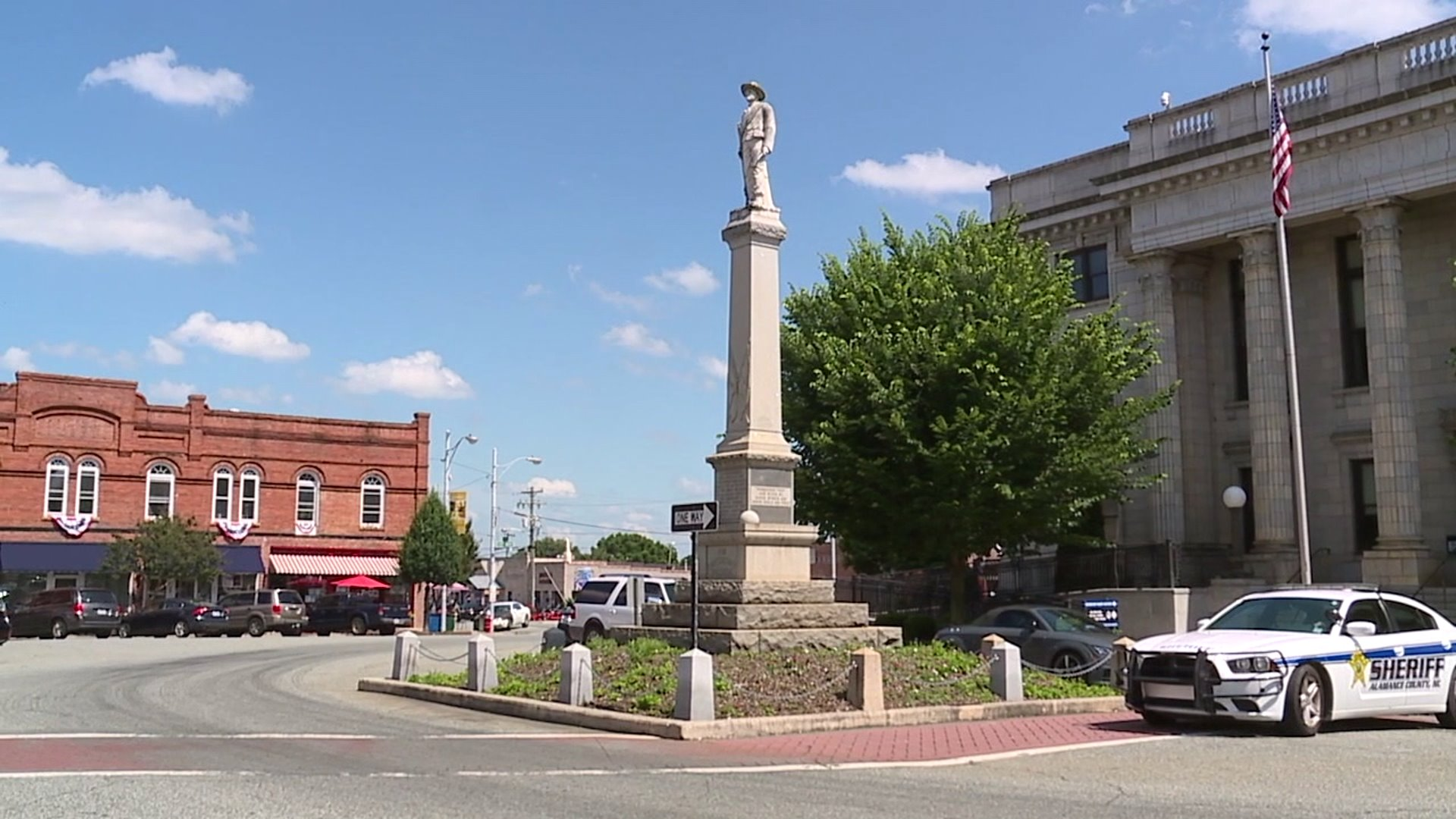 Debate on Confederate monument resurfaces in Graham